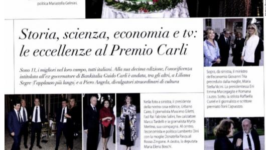 eccellenze al Premio Carli